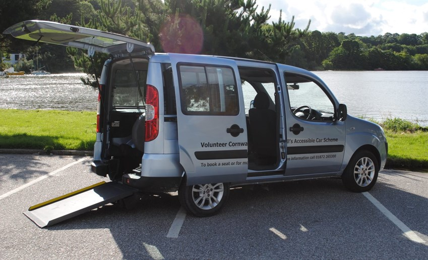picture of our accessible vehicle