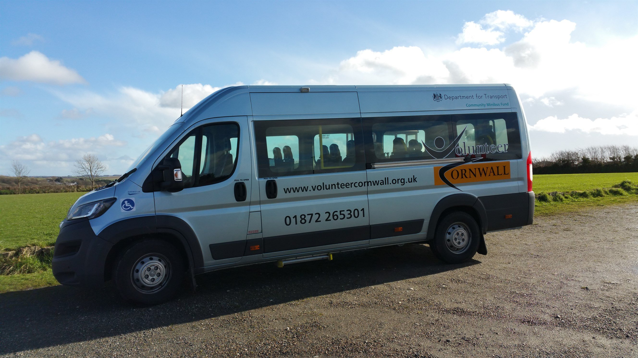 Picture of our accessible minibus